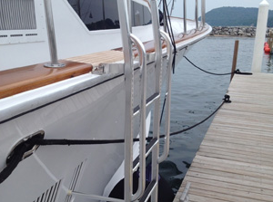 New Wave Yacht Ladder